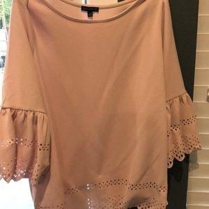Blush 3/4 sleeve top